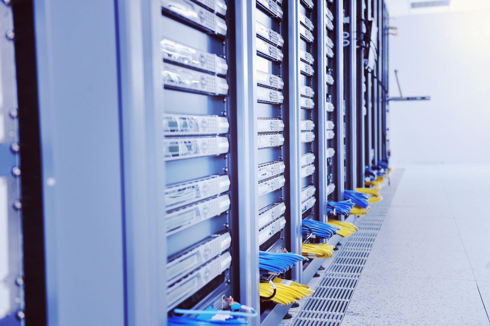 network server room dotshock
