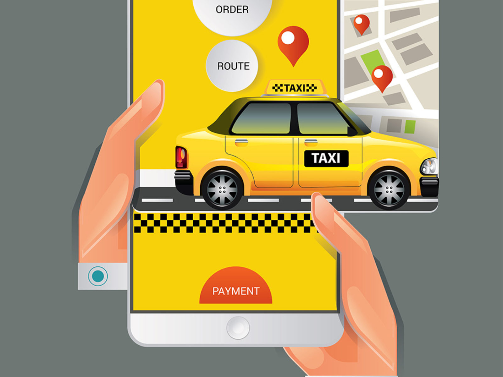 Taxi order & Notation by kupritz