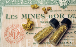 Mine Gold Shares by Gilles_Paire
