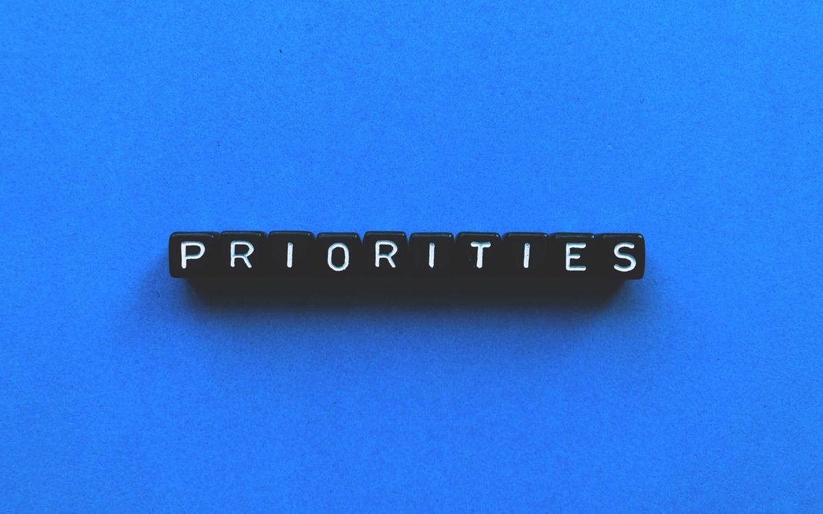 Les 3 Priorités Mondiales d'actions Economiques