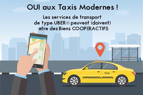 Une nouvelle forme de Taxi par les Biens COOPÉRACTIFS @medvedevadesign