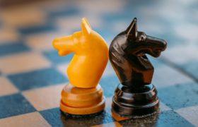 Chevaux d'échecs dos à dos par Grigory_bruev