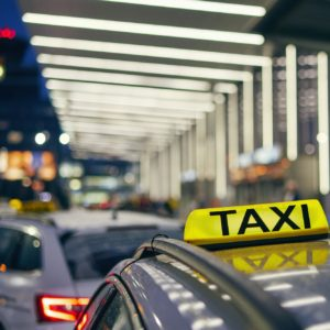 Lighting taxi sign by Chalabala