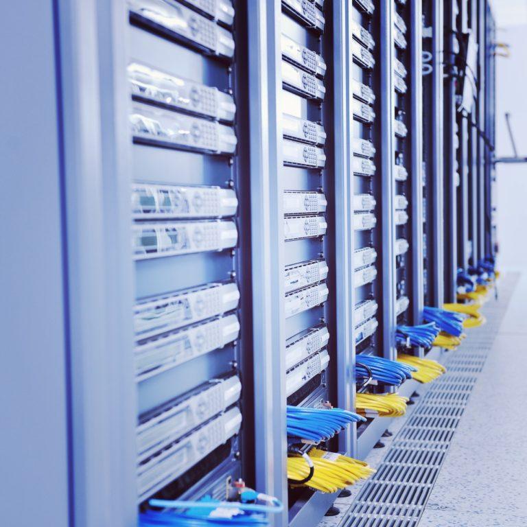 network server room by @dotshock