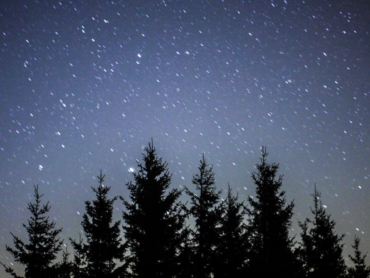 A starry sky without advertising!