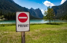 Private Property Sign by cookelma