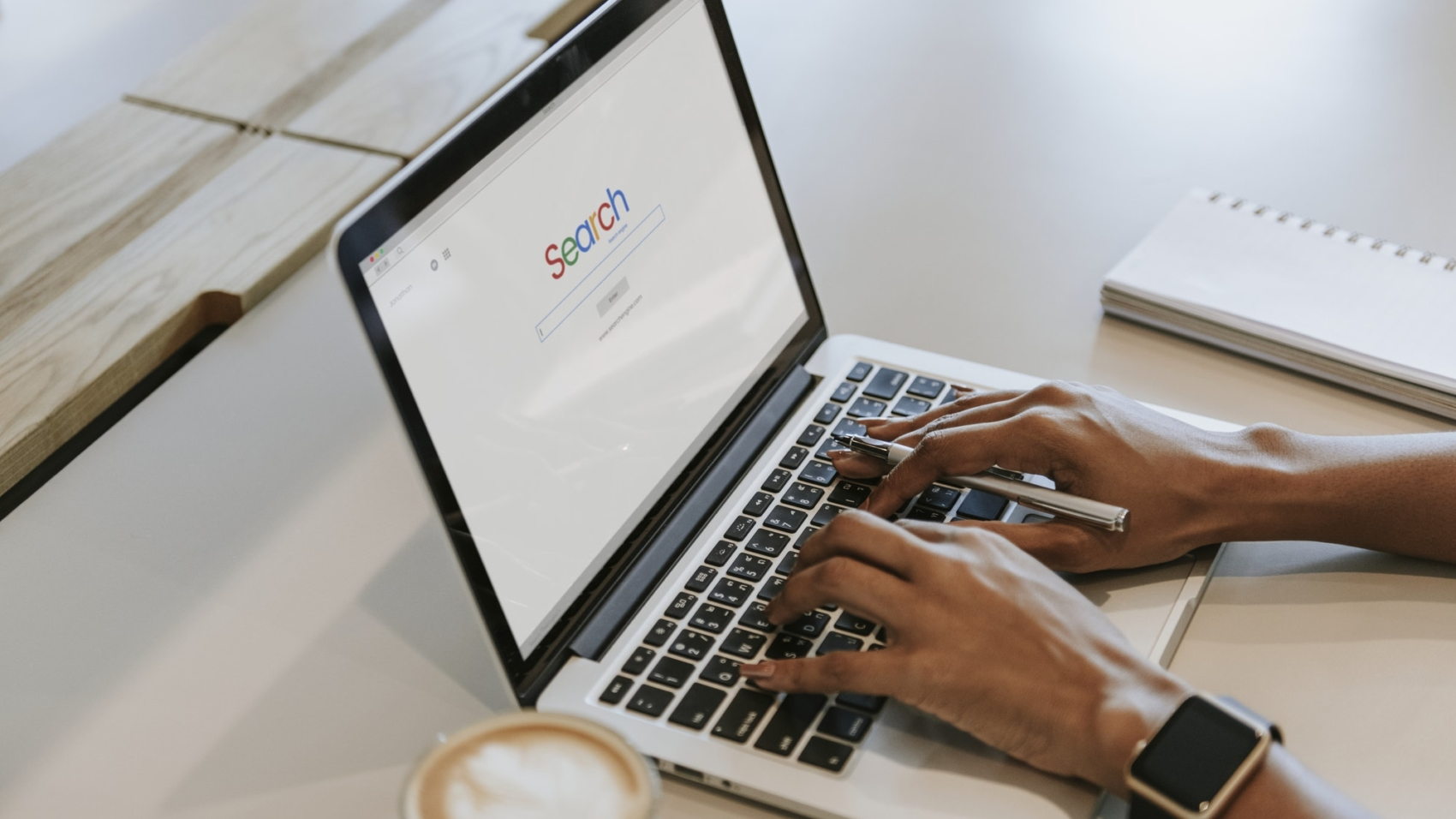 Search engine on a computer